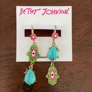 🌻Betsey Johnson earrings🌻